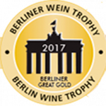 Premium Gold Medal, vintage 2012. Berliner Wine Trophy 2017